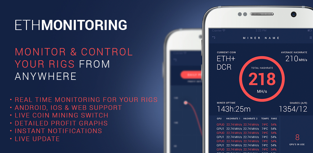 MinerMonitoring - Monitor and control your miners from anywhere